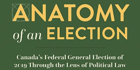 """""""Anatomy of an Election"""" Virtual Book Launch tickets"""