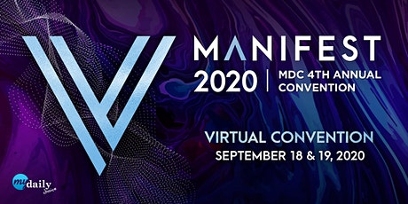 Manifest 2020 Virtual Convention tickets