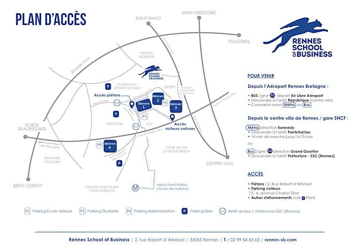 Image pour Visite du Campus de Rennes SB [Ecricome Bachelor]