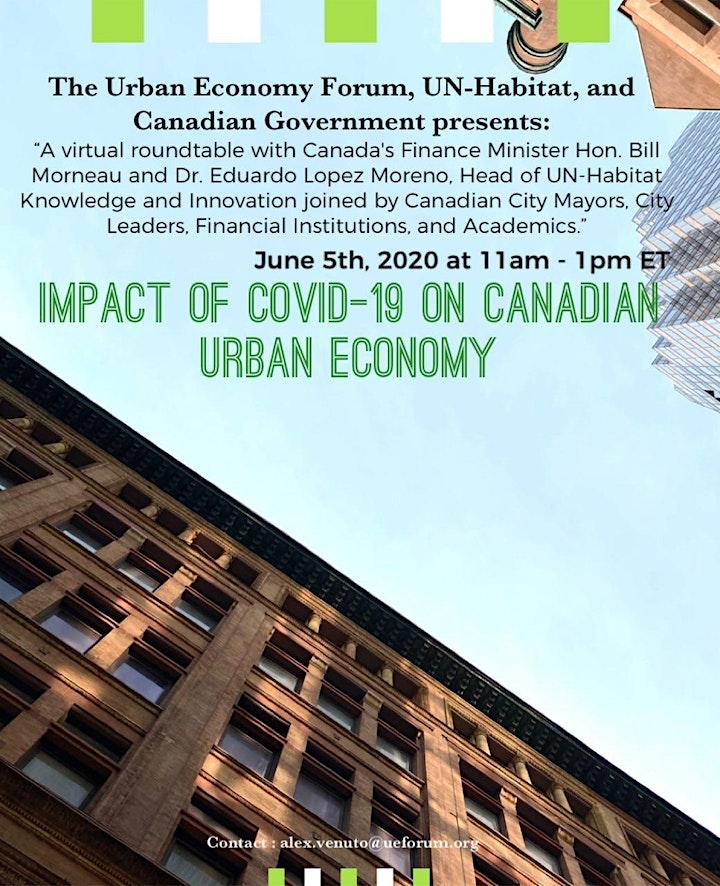 Impacts of Covid-19 on Canadian Urban Economy image