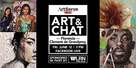 Art & Chat w/Florencia Clement de Grandprey tickets