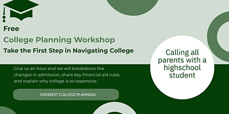 Dublin Area  College Planning Workshop tickets