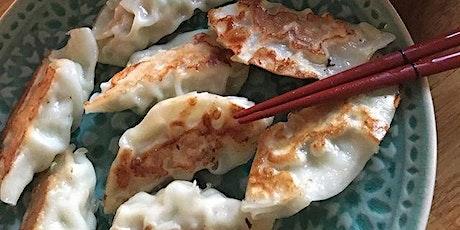 Gyoza Cooking class online tickets
