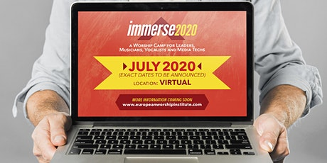 Immerse Worship Camp 2020 - Virtual tickets