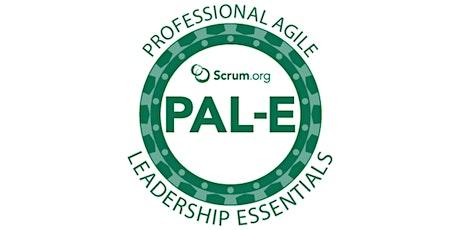 Professional Agile Leadership Essentials ingressos