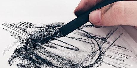 Charcoal Drawing Skills   Secondary School Online Art Class tickets