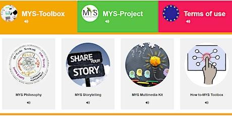 Multimediales Storytelling mit der MYS-Toolbox für Schulen Tickets