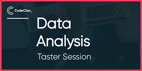 Data Analysis - Taster Session tickets