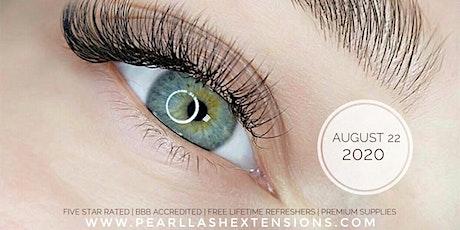 Eyelash Extension Training by Pearl Lash Boca Raton tickets