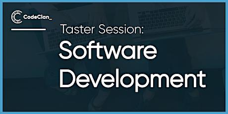 Software Development - Taster Session tickets