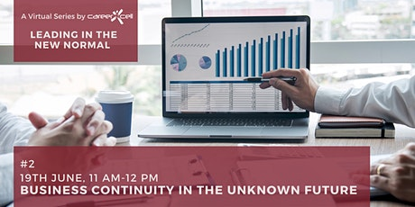 #`2 Business Continuity in the Unknown Future | A Virtual Series by CXL tickets