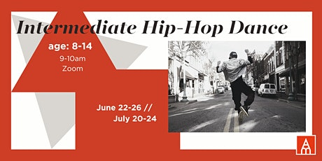 Intermediate Hip-Hop Dance with Maria Day -- June tickets