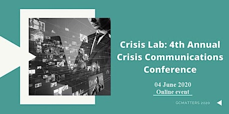 Crisis Lab: 4th Annual Crisis Communications Conference tickets
