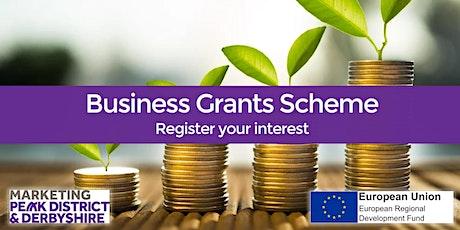 ERDF Phase II - Business Grants Scheme closed - Request Notification