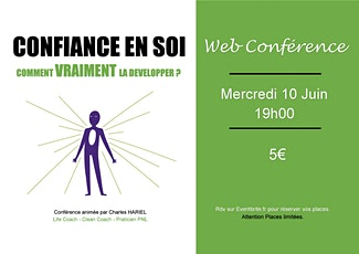 """Conférence """"Confiance en soi: Comment VRAIMENT la développer? billets"""