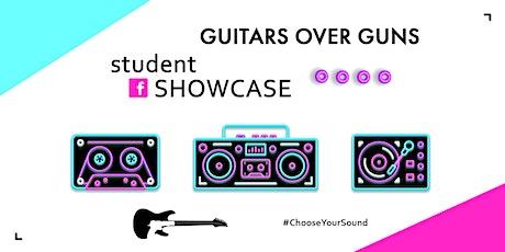 Guitars Over Guns Facebook LIVE: Student Showcase tickets