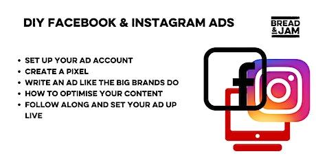 DIY Facebook & Instagram Ads tickets