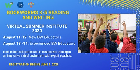 Bookworms Summer Virtual Institute 2020 tickets