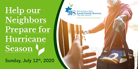 JFS  Help Our Neighbors Prepare for Hurricane Season - Delivery Opportunity tickets