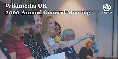 Wikimedia UK 2020 AGM tickets