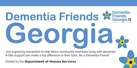Dementia Friends Georgia tickets