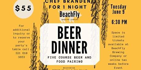 Beer Pairing Dinner tickets