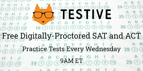 Free Digitally-Proctored Online SAT and ACT Practice Tests tickets