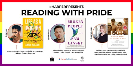 #HarperPresents: Reading with Pride tickets