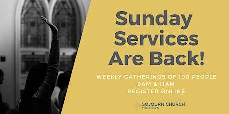 Sojourn Midtown - 7.12.20 Sunday Service Registration tickets