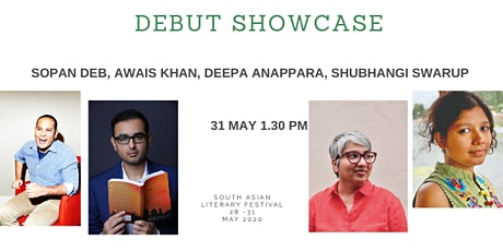 South Asian Literary Festival: DEBUT SHOWCASE tickets