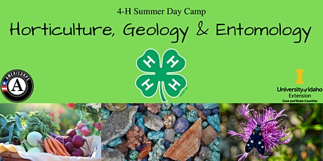 Horticulture, Geology & Entomology- 4-H Summer Day Camp tickets
