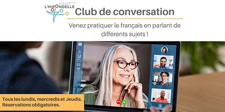 Club de conversation billets