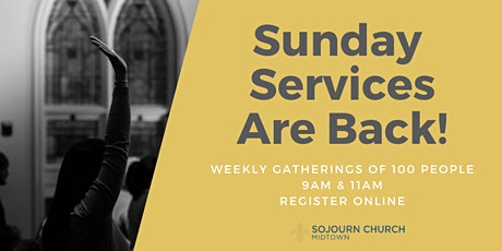 7.19.20 Sunday Service Registration tickets
