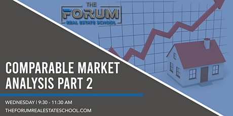 Comparable Market Analysis Part 2 tickets