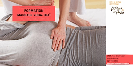 Formation massage Yoga-Thaïlandais tickets