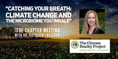 Climate Reality OC June Zoom Call with Dr. Kathleen Treseder tickets