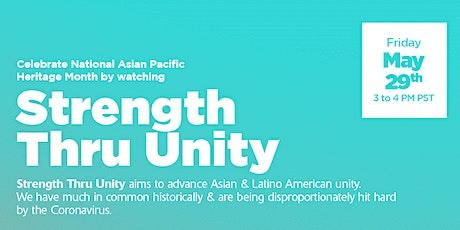 Strength Thru Unity tickets