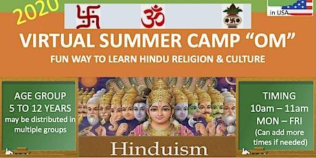Hindu Religion & Culture Summer Camp tickets
