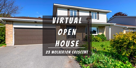 Virtual Open House LIVE with Team Tran - 23 Wolverton Crescent tickets