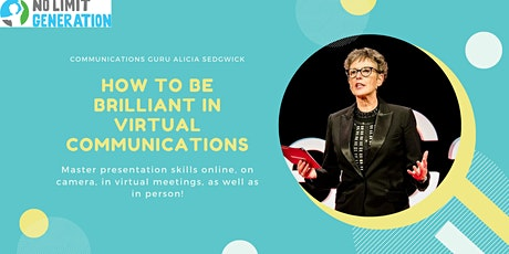 How to be Brilliant in Virtual Communications tickets