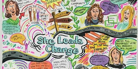 She Leads Change Summer/Autumn 2020 Programmes - taster and info webinar tickets