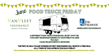 Food Truck Friday - JUNE tickets