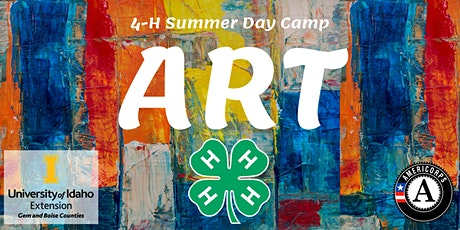 Art- 4-H Summer Day Camp tickets