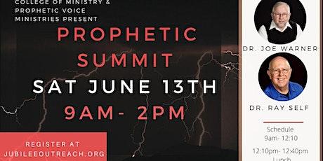 Prophetic Summit tickets