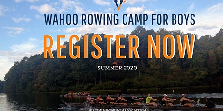 Wahoo Rowing Camp for Boys 2020 - Week 5 tickets