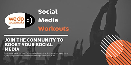 Facebook Social Media Workout - FREE 2 Week Trial Tickets