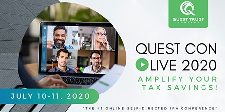 Quest Con Live! - Amplify Your Tax Savings tickets