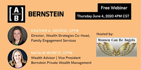"""WCBA FREE Webinar """"Women & Wealth - The 5 Things You Need To Know"""" tickets"""