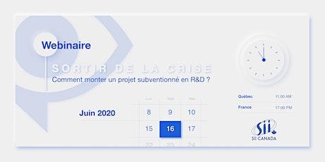 Comment monter un projet subventionné en R&D ? billets