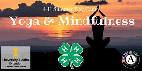 Yoga & Mindfulness- 4-H Summer Day Camp tickets